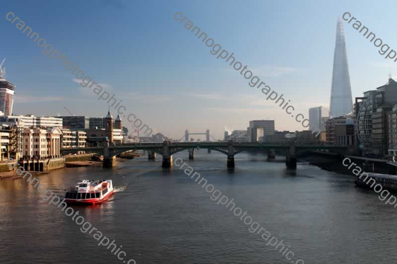 theshardandtowerbridgefromthemilleniumbridge